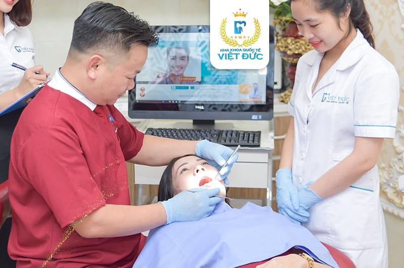 Nha khoa Quốc tế Việt Đức - Địa chỉ chữa viêm nha chu tốt, uy tín tại Hà Nội